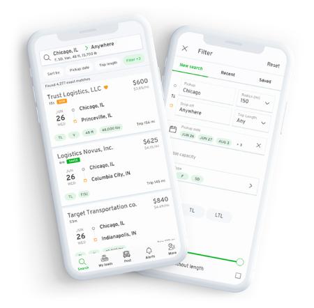 123Loadboard mobile app